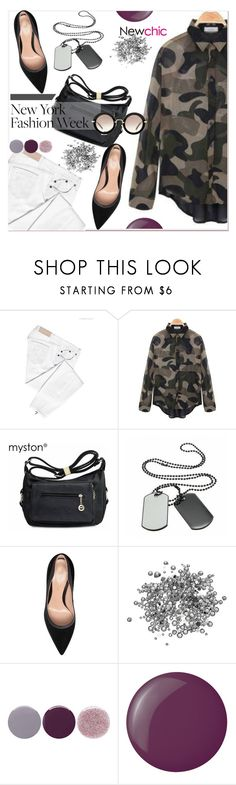 """""""Pack for NYFW!"""" by paculi ❤ liked on Polyvore featuring Victoria Beckham, Gianvito Rossi, Smith & Cult, Essie, Miu Miu, women's clothing, women, female, woman and misses"""