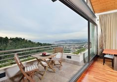 The best views from one of the most exclusive areas.
