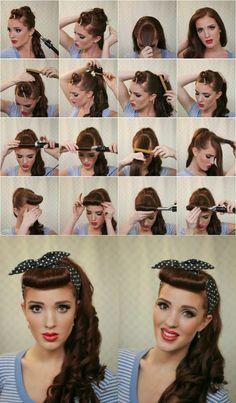 Frisur lange lockige haare
