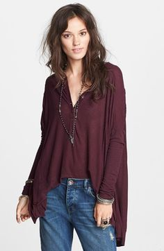 Free People 'Canyon' Henley Top | Nordstrom