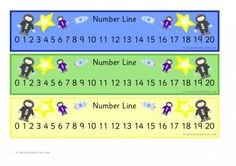 Spaceman Number Line Early Years (EYFS), Primary & Secondary School teaching help, ideas and free teaching resources for the classroom. We love sharing free teaching resources! Teaching Schools, Free Teaching Resources, Teaching Ideas, Secondary Teacher, Primary School, Secondary School, Number Chart 1 20, Early Years Teaching, Mike Singer
