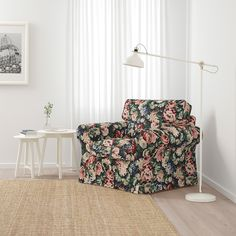 IKEA EKTORP armchair The cover is easy to keep clean as it is removable and can be machine washed. Dining Room Shelves, Living Room Storage, Dining Rooms, Ikea Ektorp, Fabric Armchairs, Cushion Filling, Affordable Furniture, Timeless Design, Seat Cushions