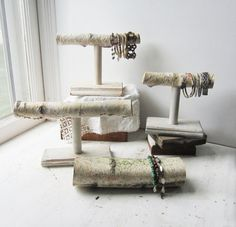 ONE Birch T-Bar Bracelet Holder  OR  Birch von TheeLetterQHandmade