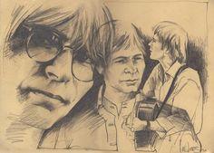 Image result for john denver caricature