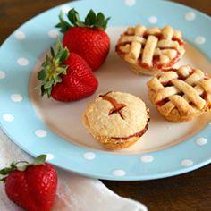 Mini Strawberry Rum Pies... :O mmmmmmm