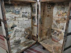 Hjertetunet: Oppddatering på gammel kiste/koffert