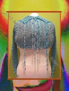 Shrug  Lightweight Open Stitch Shrug Handcrafted by ArtisticFunk, $60.00