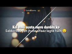 Mohabbat khatam na hogi | So sad | Mood off shayari status for WhatsApp | Zackstar poetry - YouTube Feeling Song, Shayari Status, Poetry, Sad, Tech, Songs, Feelings, Youtube, Poetry Books