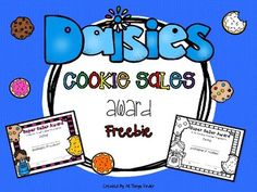 Your Girl Scout cookie rewards ceremony wont be complete without this colorful Daisy Cookie Sales Award! Use the Super Seller Award to celebrate every sale made by each girl. To assemble, just print, cut and hand out to your little Daisy Girl Scouts!If you like this freebie, be sure to check back in my store for the complete Daisy Cookie Sales Awards and Certificates.