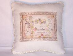 French Soap Ad Throw Pillow Savon Vintage Repro Ivory Cotton