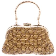 353fad53f55a46 Tom Ford for Gucci Embellished Gold Clutch Bag White Clutch, White Handbag,  Gold Clutch