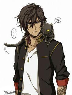 Eu e a guarda do leão - Schönen Tag Guten Morgen Anime Sexy, Anime Sensual, Cool Anime Guys, Hot Anime Boy, Anime Boys, Chica Anime Manga, Manga Boy, Anime Art, Anime Fantasy
