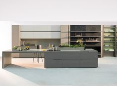 The Wave line provides clean, innovative and versatile shapes. Its linear handles, which feature unique design and are extremely ergonomic, can be used to compose the kitchen, closet or bathroom furniture in four different ways, horizontally or vertically, and also by opening two doors forming a unique cavity. The Wave line also features options in …