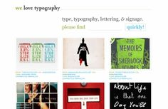 30 Top Sources of #Typography #inspiration