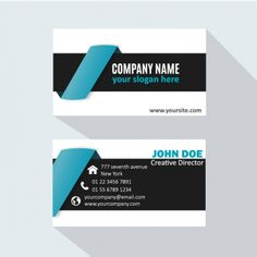 Card business design icon name vector modern corporate business card template professional presentation stationery corporate identity company reheart Choice Image