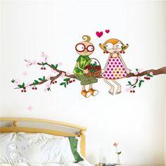 LE TEMPS DES CERISES / Stickers muraux / Wall stickers / Design Série-Golo