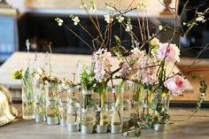 rideau de fleurs
