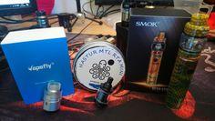 Just in... VapCell batteries (sent via NatureVape), Smok Resa Stick, Cthulhu Hastur MTL Mini and the VapeFly Wormhole RDA