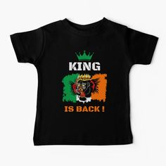 #thekingisback #conormcgregor #ufc #mma #findyourthing #shirtsonline #trends #riveofficial #favouriteshirts  #art #style #design #shopping #redbubble #digitalart #design #fashion #phonecases #customproducts #onlineshopping #accessories #shoponline #onlinestore Conor Mcgregor Kids, Profile Photo, Ufc, Chiffon Tops, Invite, Ireland, Colours, King, Trends