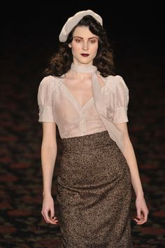 Lena Hoschek Show - Mercedes-Benz Fashion Week Berlin Autumn/Winter 2012