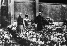 A Chinese imperial eunuch accompanying Henry Puyi, the last Emperor.