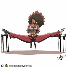 ・・・ Morning guys, Hope you are well and all having a great Monday. Here is the latest Bushida piece by Tony… Sexy Black Art, Black Love Art, Black Girl Art, Art Girl, Black Men, Cartoon Kunst, Comic Kunst, Cartoon Art, Comic Art