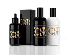 Charlotte Mensah Manketti Oil Collection on Packaging of the World - Creative Package Design Gallery