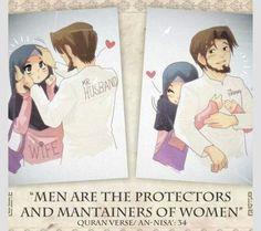 I love my husband Islam Marriage, Marriage Relationship, Love And Marriage, Successful Marriage, Relationships, Hadith, Islamic Cartoon, Cute Muslim Couples, Islam Women