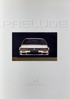 Honda Prelude Mk2 Netherlands Brochure 1985