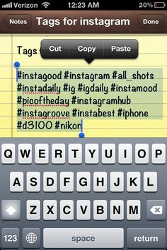 Copy and Paste these Instagram Top Hashtags | Aptsonic.com