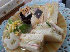 サンドイッチ(●^ω^●)