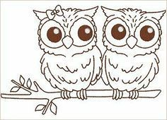 Owl line drawing Owl Coloring Pages, Coloring Books, Owl Patterns, Embroidery Patterns, Owl Outline, Owl Doodle, Owl Templates, Owl Tattoo Design, Owl Pictures