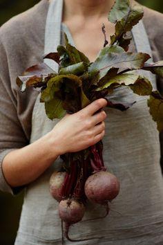KINFOLK | Magazine | #Beautiful, #Clean #Design with #Amazing #Photographs & #Nice #Typography Fruits And Vegetables, Veggies, Beets, Kinfolk Style, Vegetable Garden, Grow Your Own, Kinfolk Magazine, Auf Dem Land, Farm Life