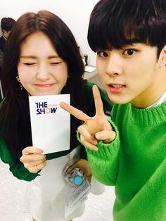 UP10TION Wooshin & Somi