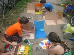 Build Your Own Doll House Party   Austin Tinkering School - Great idea!