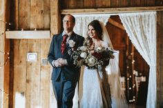 Entering the ceremony in the Manor Barn. Twisted Oak, House Property, Twinkle Lights, Photo Credit, Wedding Ceremony, Barn, Studio, Wedding Dresses, Photography