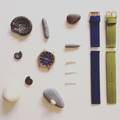 Shore Project watches have an ingenious strap swap idea which means you can change the feel of the watch in about 10 seconds to match your outfit... or just your mood! @grovecomms