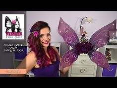 Thanks for watching! I do make and sell fairy wings in my Etsy shop, as one of a kind creations! (The hair clips I am wearing are from my shop as well). http...