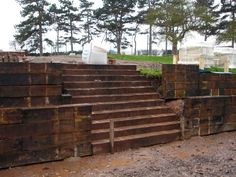 diy retaining wall | RETAINING WALL WITH RAILWAY SLEEPERS - BUILD & DESIGN RETAINING WALL