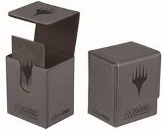 Save $7.00 on Ultra Pro Magic the Gathering: MTG Mana Planeswalker Magnetic Flip Box (Deck Box / 86112) Matte / Gray; only $12.70
