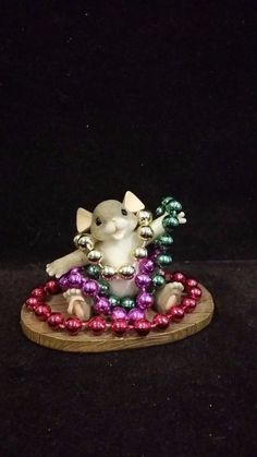 I have this little guy Louisiana Art, Mini Mouse, Mice, Mardi Gras, Masquerade, Warm And Cozy, New Orleans, Holiday, Christmas