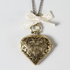 Filigree Heart Pendant Necklace | Claire's