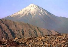 Damavand, Iran - Climbed this peak in 2001.  The warmth of the Iranian people and the dramatic landscape were remarkable.