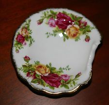 Vintage 1962 Fralda Prato Royal Albert Old Country Roses Bone China