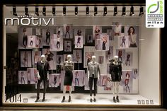 Motivi Fashion Week windows 2014, Milan – Italy