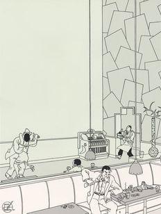 Joost Swarte - De spiegel