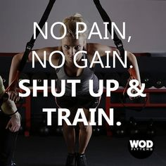 No excuses, whatsoever! 💪  #noexcuses #workout #wednesdaymotivation #fitnessgoals #fitspiration Wednesday Motivation, Functional Training, Shut Up, Cross Training, Fitspiration, Workout, Work Out, Exercise, Inspiration Fitness