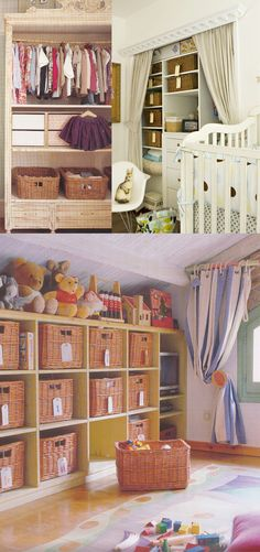 How To Organize The Kids' Closets…