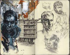 Moleskine Sketches | #art #moleskine #sketch