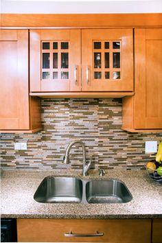 Transitional Kitchen - Beech Kitchen Ideas, Kitchen Design, Transitional Kitchen, Kitchen Cabinets, Home Decor, Decoration Home, Design Of Kitchen, Room Decor, Cabinets